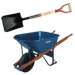 Shovels and Wheelbarrows