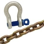 Master Lock Chain and Shackles