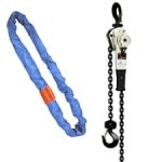 Lifting Slings and Lever Hoist