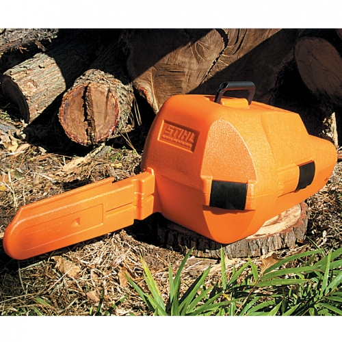 "STIHL CHAIN SAW CARRYING STORAGE CASE BAG HOLDALL CHAINSAW UP TO 18/"" 00008810508"