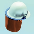 Plastic Face Shield Tempgard for Fullbrim Helmet