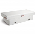 Truck Box King Size Single Lid White