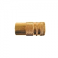 "Brass 1/4"" Female Body Coupler (1/4"")"