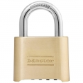 "Combination Brass Padlock 1"" Shackle"