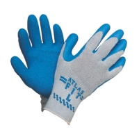 Cotton Knit Rubber Palm Fit Gloves