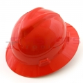 Standard Hardhat w/Fas-Trac Suspension (Red)