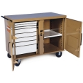 Storagemaster Rolling 8-Drawer Work Bench