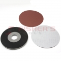 "H&L 2 Piece Paper Drywall Pad Kits with 5 Abrasive Discs - 9"" (220G)"