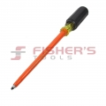 "Insulated Robertson #2 Tip Screwdriver (8"")"