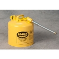 "Type II Yellow Safety Can with 7/8"" Flex Spout (5 Gallons)"