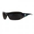 Brazeau Designer Apocalypse Safety Glasses with Smoke Lens (Black & Green)