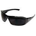 Brazeau Safety Glasses with Smoke Lens (Black Skull)