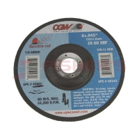"General Purpose Quickie Cut Type 27 Cut-Off Wheel 6"" (60 Grit)"