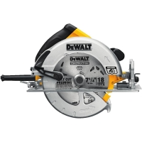 "Lightweight Circular Saw with Electric Brake (7-1/4"")"