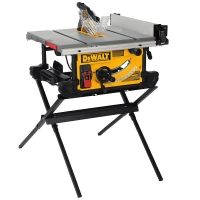 "Jobsite Table Saw with Scissor Stand (10"" Blade)"