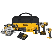 20V Max Lithium Ion 4-Tool Combo Kit (3.0 Ah)