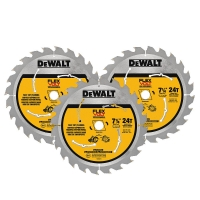 "Flexvolt Circular Saw Blade 3 Pack 7-1/4"" (24 Teeth)"