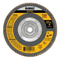 "Flexvolt Flap Disc 4-1/2"" Type 29 - 5/8""-11 Arbor (60 Grit)"