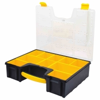 Deep Professional Organizer Case, Yellow/Balck