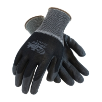 Seamless Knit Nylon Glove with Air-Infused PVC Coating on Palm and Fingers (X-Large)