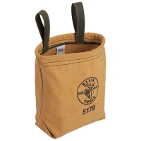 Water-Repellant Canvas Pouch with Snap Belt Loops