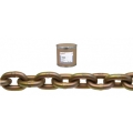 "Grade 70 Transport Chain with Yellow Chromate Coating (3/8"")"
