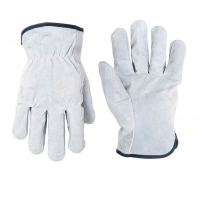Split Cowhide Drivers Gloves (Size Large)