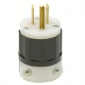 Straight Blade Male Plug 15A 125V 2-Pole 3-Wire Grounding 5-15P