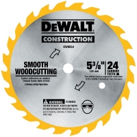 "Carbide Combination Circular Saw Blade 5-3/8"" (24 TPI)"