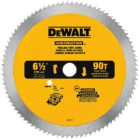 "Steel Combination Circular Saw Blade 6-1/2"" (90 TPI)"