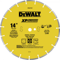 Wet or Dry Segmented Diamond Circular Saw Blade 14""