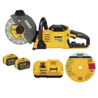 "Flexvolt 60V MAX Cordless Brushless Cut-off Saw Kit (9"" Blade)"