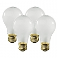 1000 Lumen Commercial Grade Light Bulbs (4-Pack)