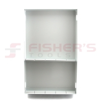 "Steel Divider Tray 19.25"" x 14"" (White)"