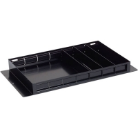 "Steel Divider Tray 26.5"" x 14"" (Black)"