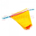 Yellow Pennant Flags