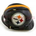 Standard V-Gard NFL Cap w/1-Touch Suspension (Steelers)