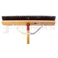"Line Garage Brush No. 22A (24"") with 5 Foot Handle"