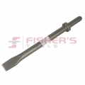 "Narrow Chisel for .680"" Round Shank with Round Collar (12"" x 1"")"