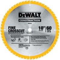 "Construction 10"" Combo Pack Saw Blades (DW3106 & DW3103)"