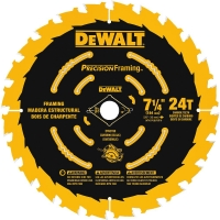 Carbide Tipped Portable UltraThin Kerf Framing Saw Blade 7-1/4""