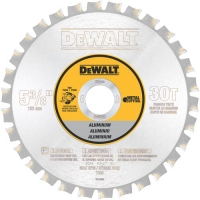 "Cordless Saw Blade 5-3/8"" 30 Tooth Aluminum"