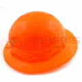 Full Brim Hard Hat with Ratchet Suspension (High Visibility Orange)