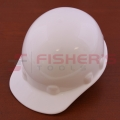 Hard Hat with Ratchet Suspension (White)