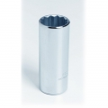 "3/8"" 12-Point Deep Length Hand Socket 3/8"" Drive"