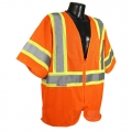 Orange Safety Vest (Class 3, X-Large)