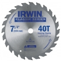 "Classic Series Circular Saw Blade 7-1/4"" (40Teeth, 5/8 Arbor)"