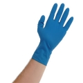 Blue Lightning 15 Mil Powder Free Latex Gloves (X-Large)