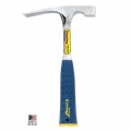 Bricklayer Masons Hammer with Blue Shock Reduction Grip (24 oz)