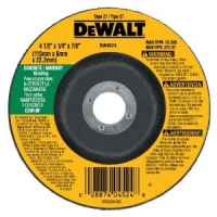 "High Performance Type 27 Masonry Cutting and Grinding Wheel 4-1/2"" x 1/4"" x 7/8"""